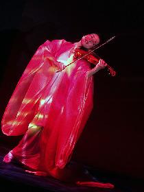 ヴァイオリンミューズ川井郁子が「源氏がたり」(林真理子 著)を艶やかな音楽舞台に演出