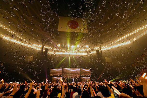「リスアニ!LIVE 2016 SUNDAY STAGE」の様子。(写真提供:エムオン・エンタテインメント)