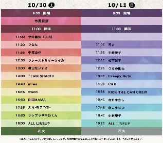『長岡 米百俵フェス 〜花火と食と音楽と〜 2020』タイムテーブルを発表 ライブ配信も決定