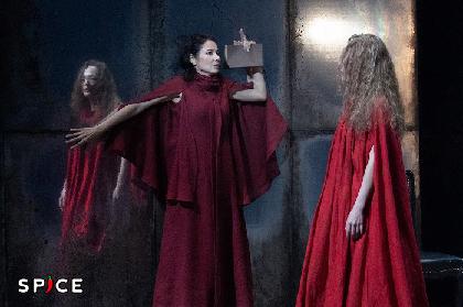 吉田羊主演 舞台『ジュリアス・シーザー』が開幕 演出・森新太郎らコメント&舞台写真が到着
