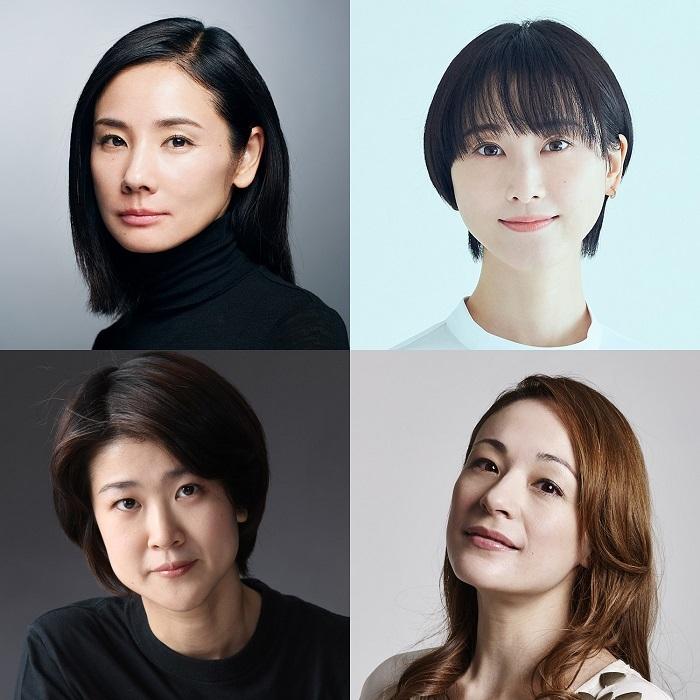 (上段左から)吉田羊、松井玲奈(下段左から)松本紀保、シルビア・グラブ