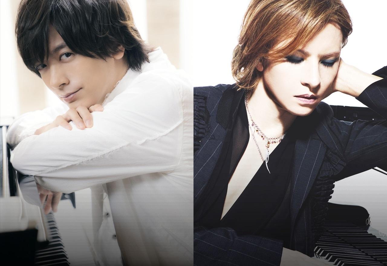 写真左から:DAIGO、YOSHIKI