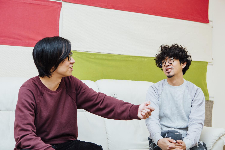ホリエアツシ / 後藤正文 撮影=西槇太一