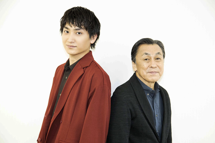 (左から)金子大地、佐藤B作  (撮影:池上夢貢)