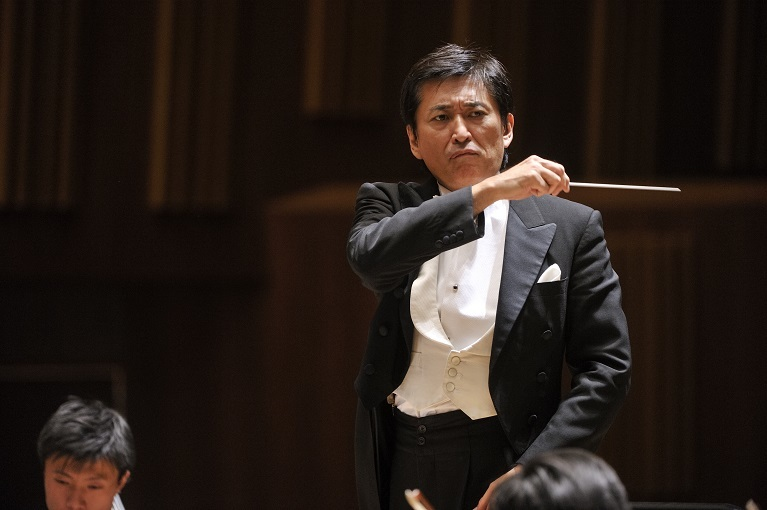 これまでに交響曲を依頼したのは菅野さんだけです。  (C)青柳 聡