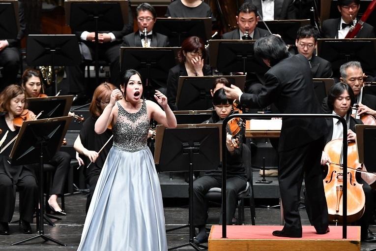 ソプラノ 中村恵理 (近江の春びわ湖クラシック音楽祭2019)  写真提供:びわ湖ホール