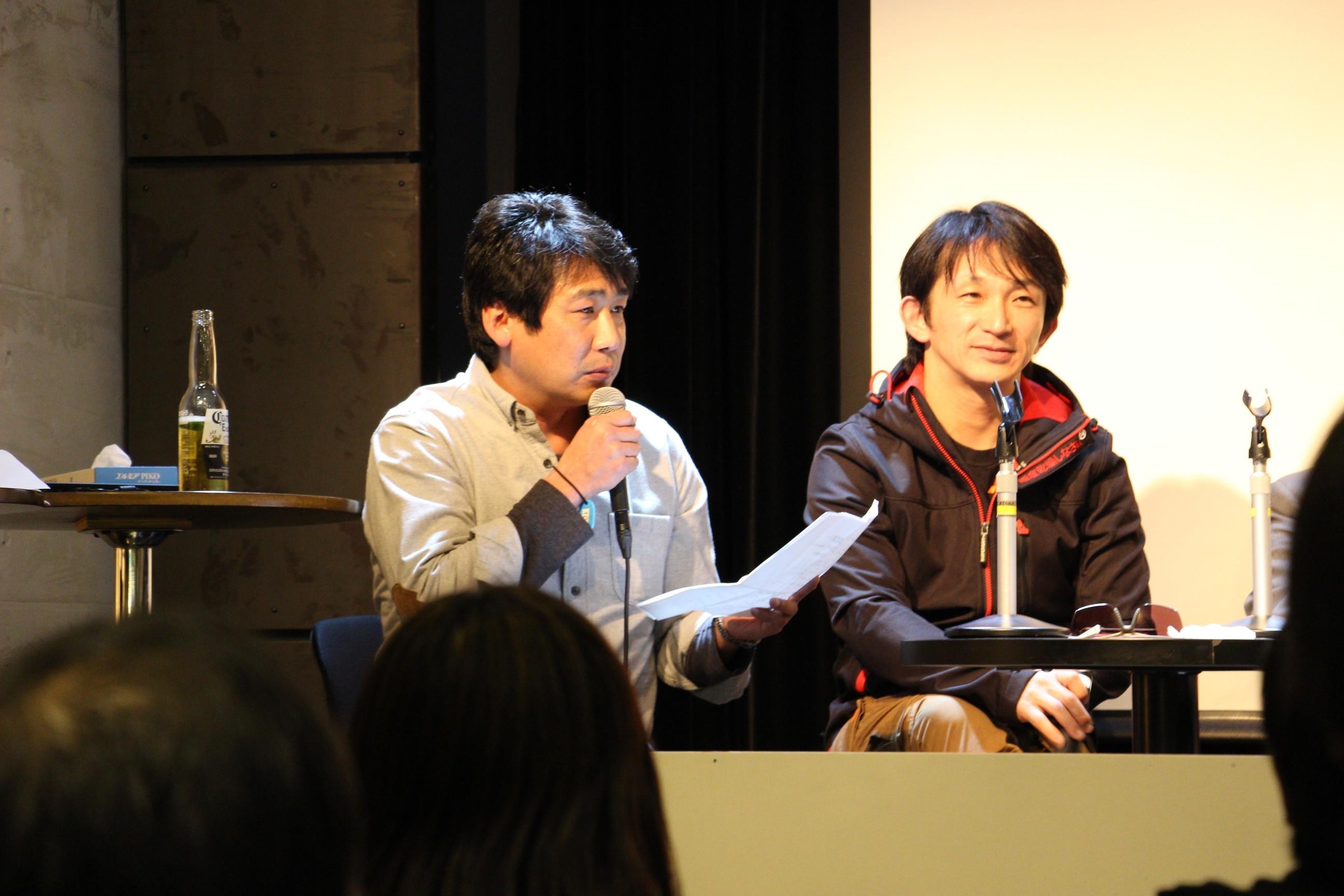 横山 誠(左)