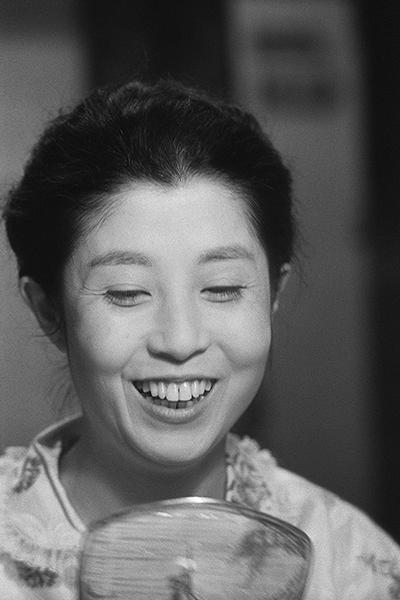 森光子 1961年撮影 [練馬区立美術館展示]