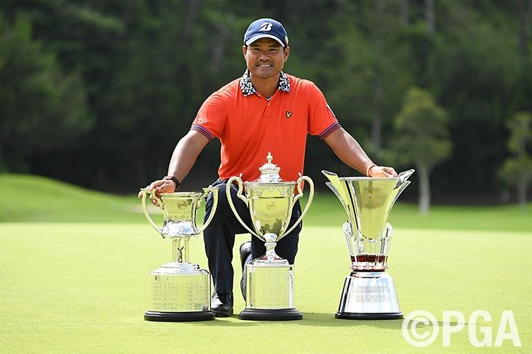 昨年覇者の宮里優作。今年も優勝すれば、2004年~05年のS・K・ホ(韓国)以来、13年ぶりの連覇達成となる