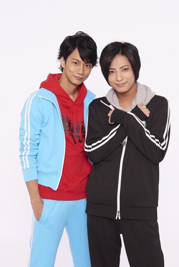 左、馬場良馬さん、右、斉藤秀翼さん