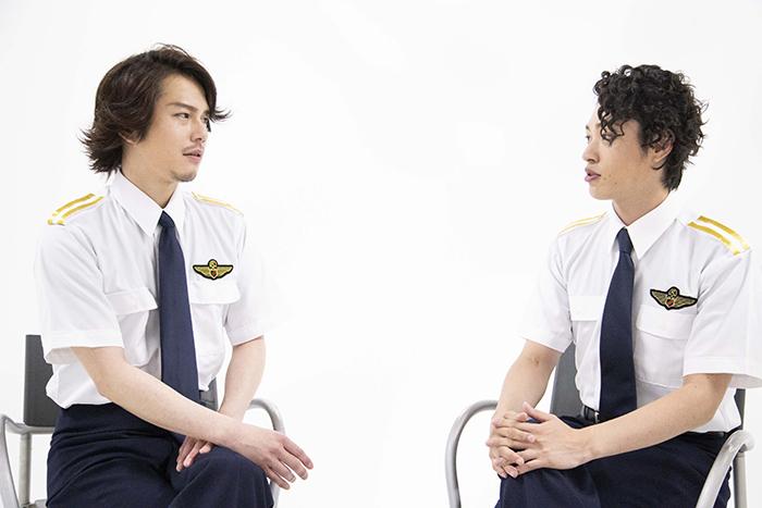 (左から)平野良、安西慎太郎