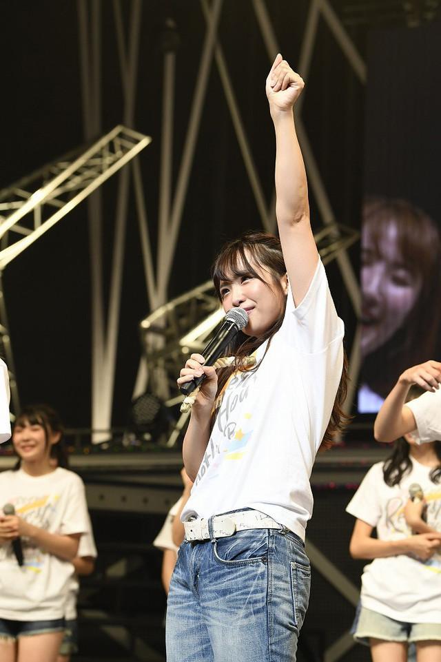 2018年9月開催「SKE48リクエストアワーセットリストベスト100 2018~メンバーの数だけ神曲はある~」より松村香織(SKE48)。(c)AKS