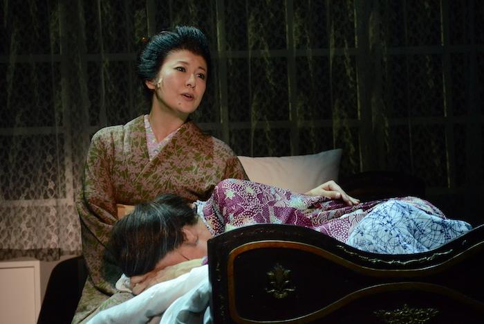 『土佐堀川 近代ニッポン―女性を花咲かせた女 広岡浅子の生涯』のゲネプロの様子