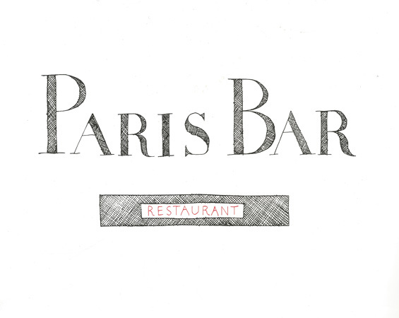『PARIS BAR』 ©Douglas Gordon & Jonathan Monk Courtesy of TARO NASU