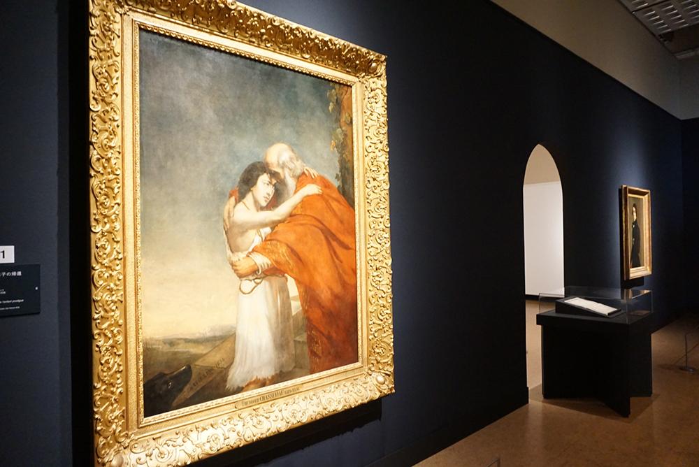テオドール・シャセリオー <放蕩息子の帰還> 1836年 ラ・ロシェル美術館