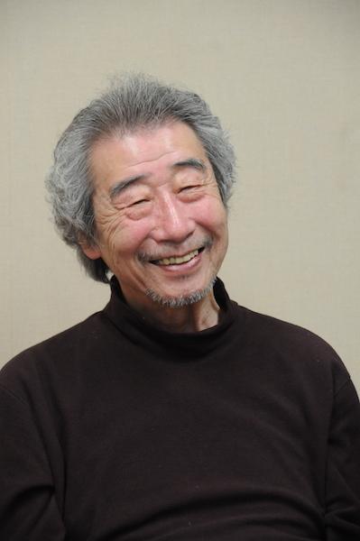 仁科仙蔵(爺さん)を演じる杉本孝次。 撮影/稲谷善太