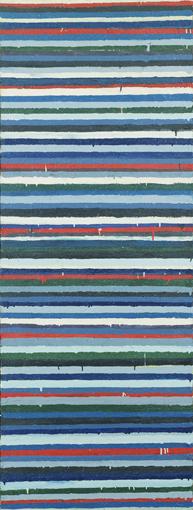 《Work C.73》1960年 油彩・キャンバス 180×68㎝ 東京国立近代美術館蔵