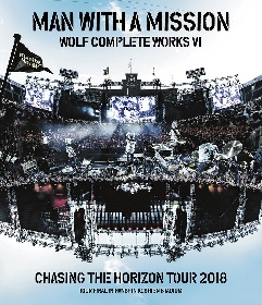 MAN WITH A MISSION、阪神甲子園球場公演の映像作品のジャケット写真&ティザー映像公開