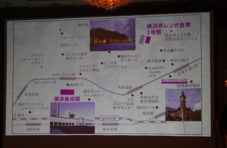 ヨコハマトリエンナーレ2017 主会場案内図