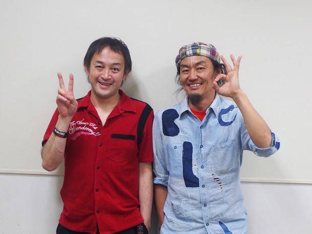 「可能性の獣たち2017」左からプロデューサーの勝山康晴(左)とスーパーバイザーの近藤良平。(撮影:筒井あや)