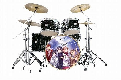 『SAO』や『禁書目録』など「電撃文庫」の人気4作品とドラムメーカー「CANOPUS」がコラボしたドラムセットを受注生産、10月7日受付開始