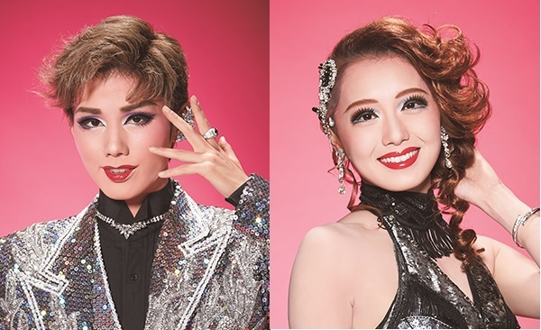 (左から)彩風咲奈、朝月希和 (C)︎宝塚歌劇団