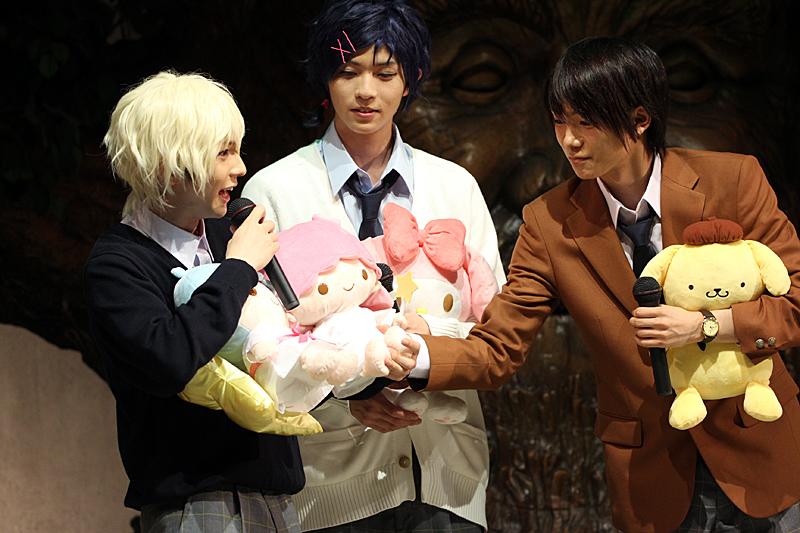 (左から)宮崎湧、笹森裕貴、北川尚弥