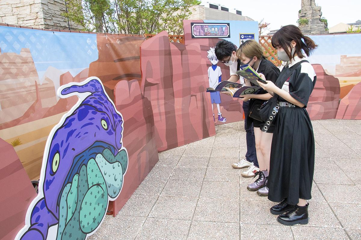 プレイイメージ (C)POT(冨樫義博)1998年-2011年 ©VAP・日本テレビ・マッドハウス