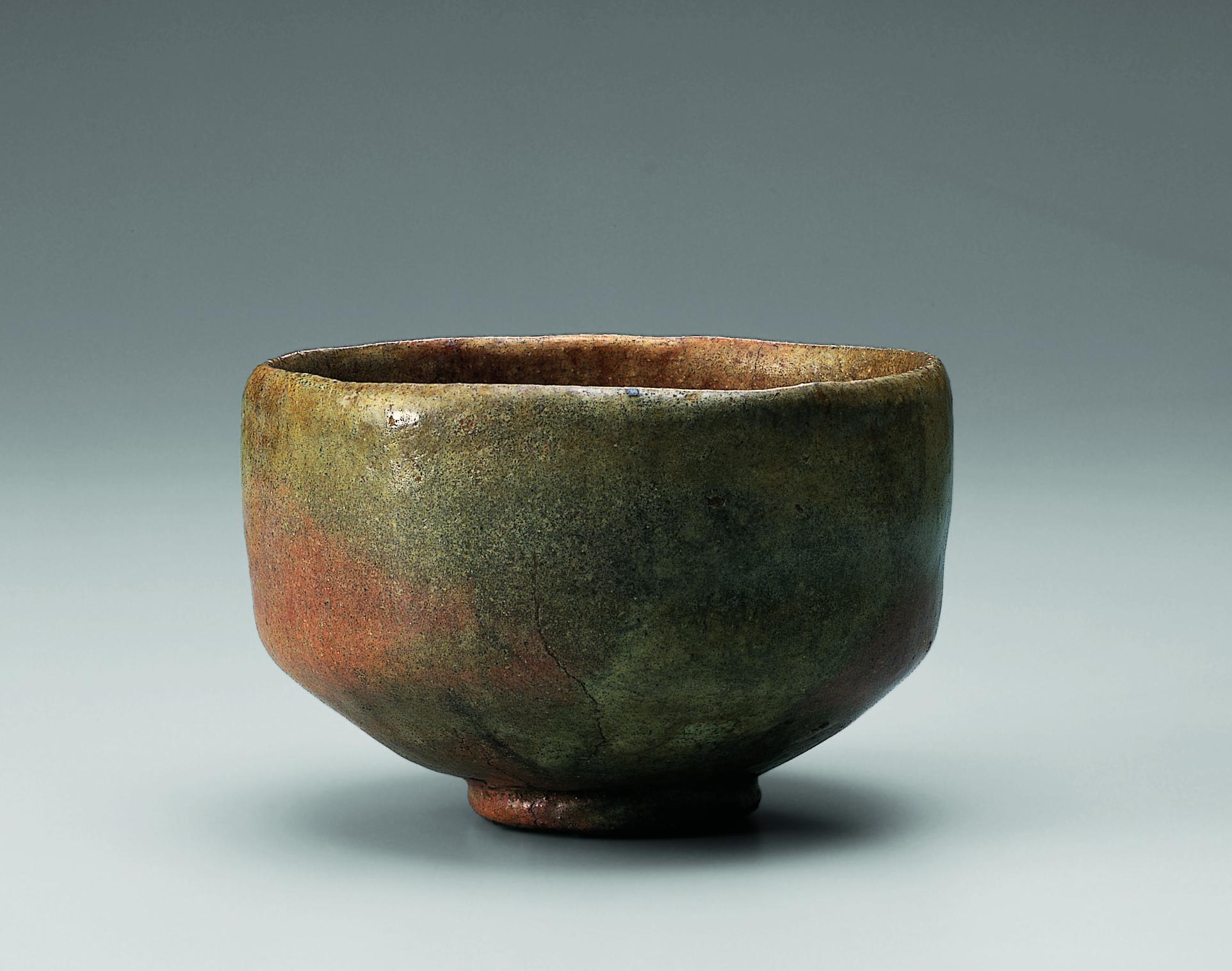 初代 長次郎 赤樂茶碗 銘 一文字 桃山時代(十六世紀) 個人蔵 【東京会場は会期中展示替えがあります】