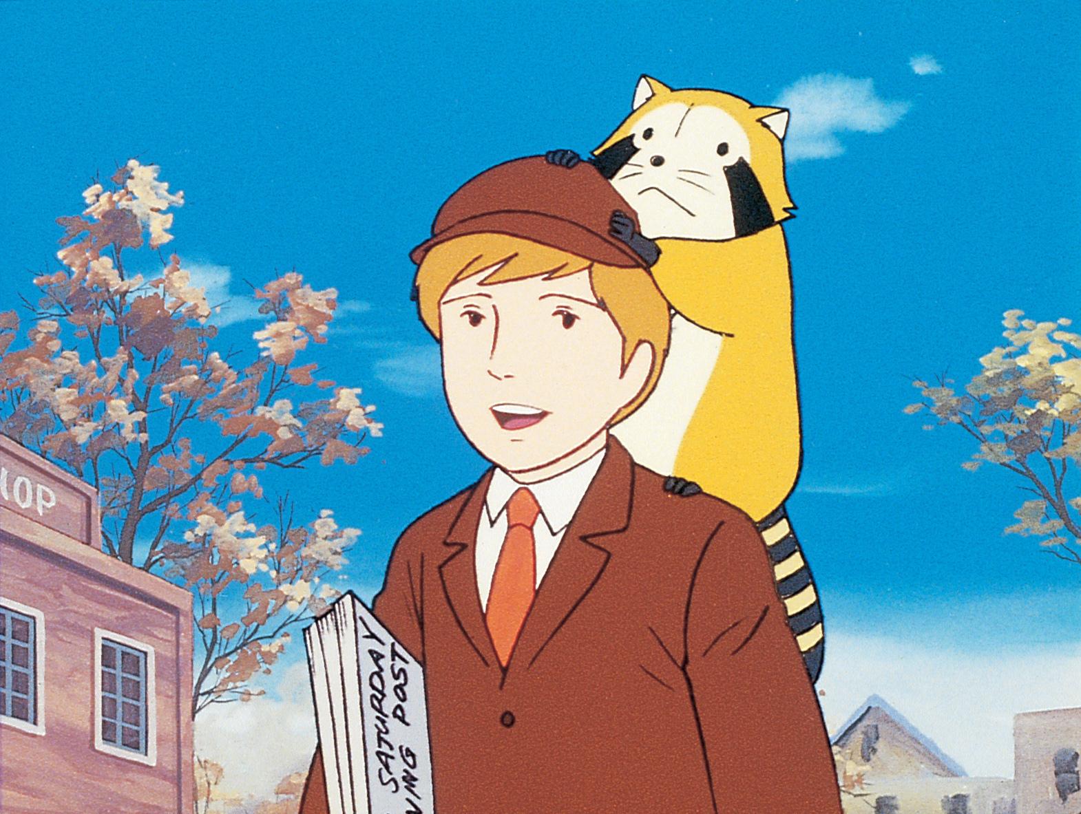 『世界名作劇場 あらいぐまラスカル』より (C) NIPPON ANIMATION CO., LTD.