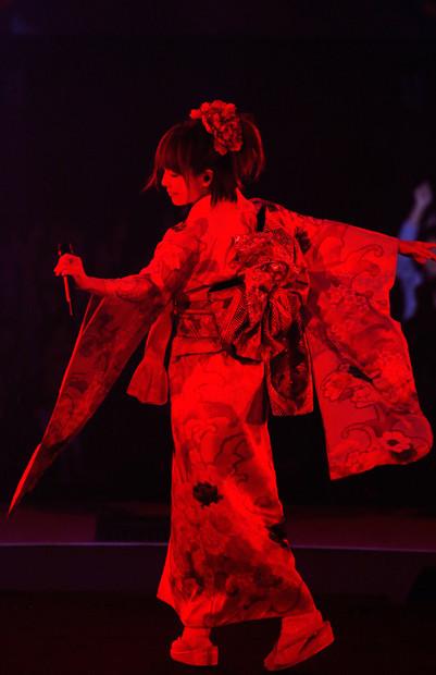 aiko「Love Like Pop vol.18~CountDown Live あっという間の最終日~」の様子。(撮影:岡田貴之)