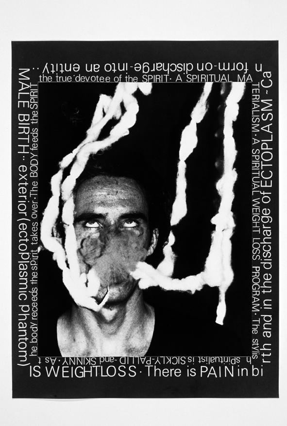 エクトプラズム#2 外に出るエクトプラズムの幻 「ポルターガイスト」シリーズより 1979年  Art (c) Mike Kelley Foundation for the Arts. All rights reserved/Licensed by VAGA, New York, NY