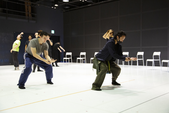 Noism1『Das Zimmer』演出振付:森優貴 リハーサル 撮影:遠藤龍