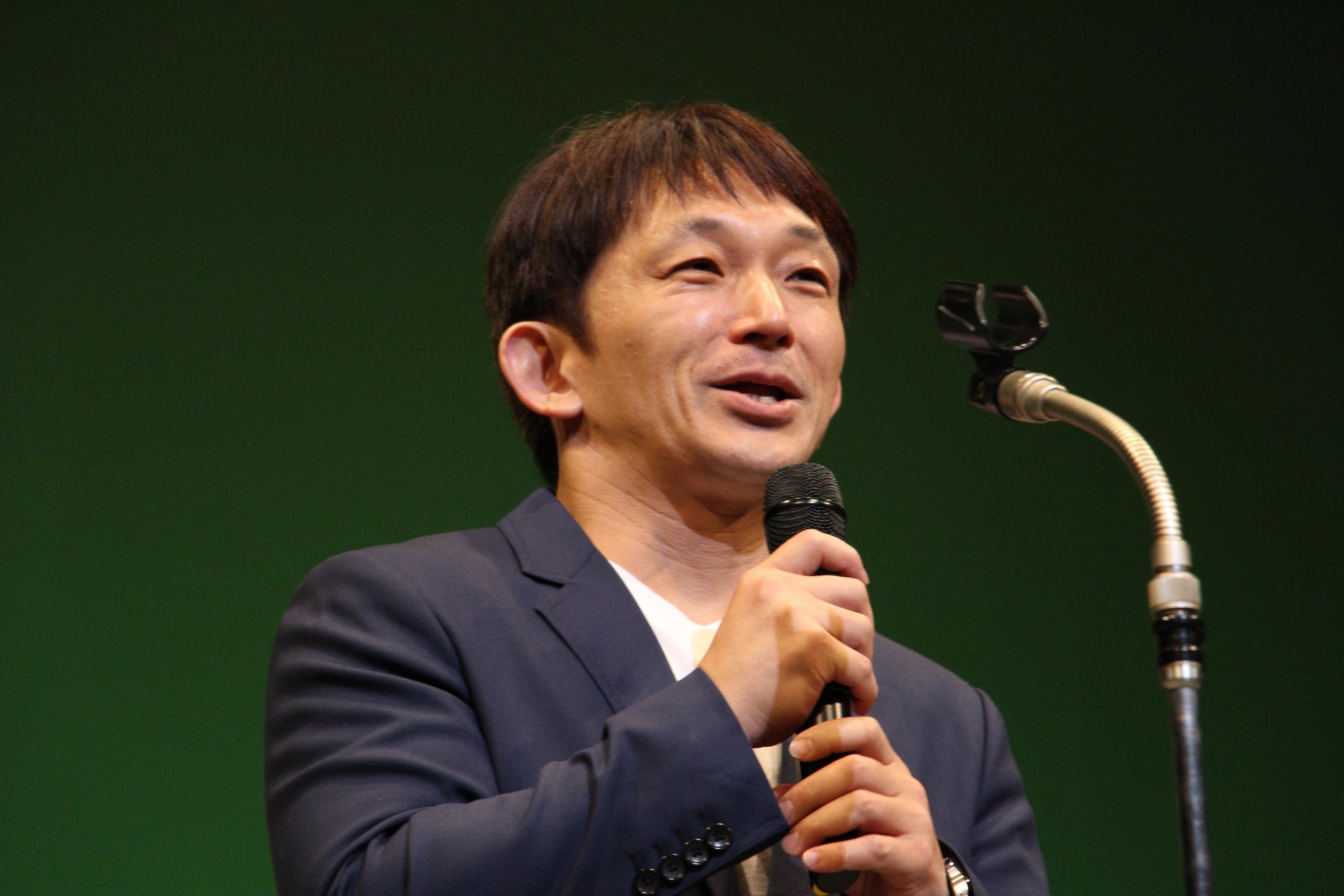 ベストアクション監督賞プレゼンターとして登壇した谷垣健治氏