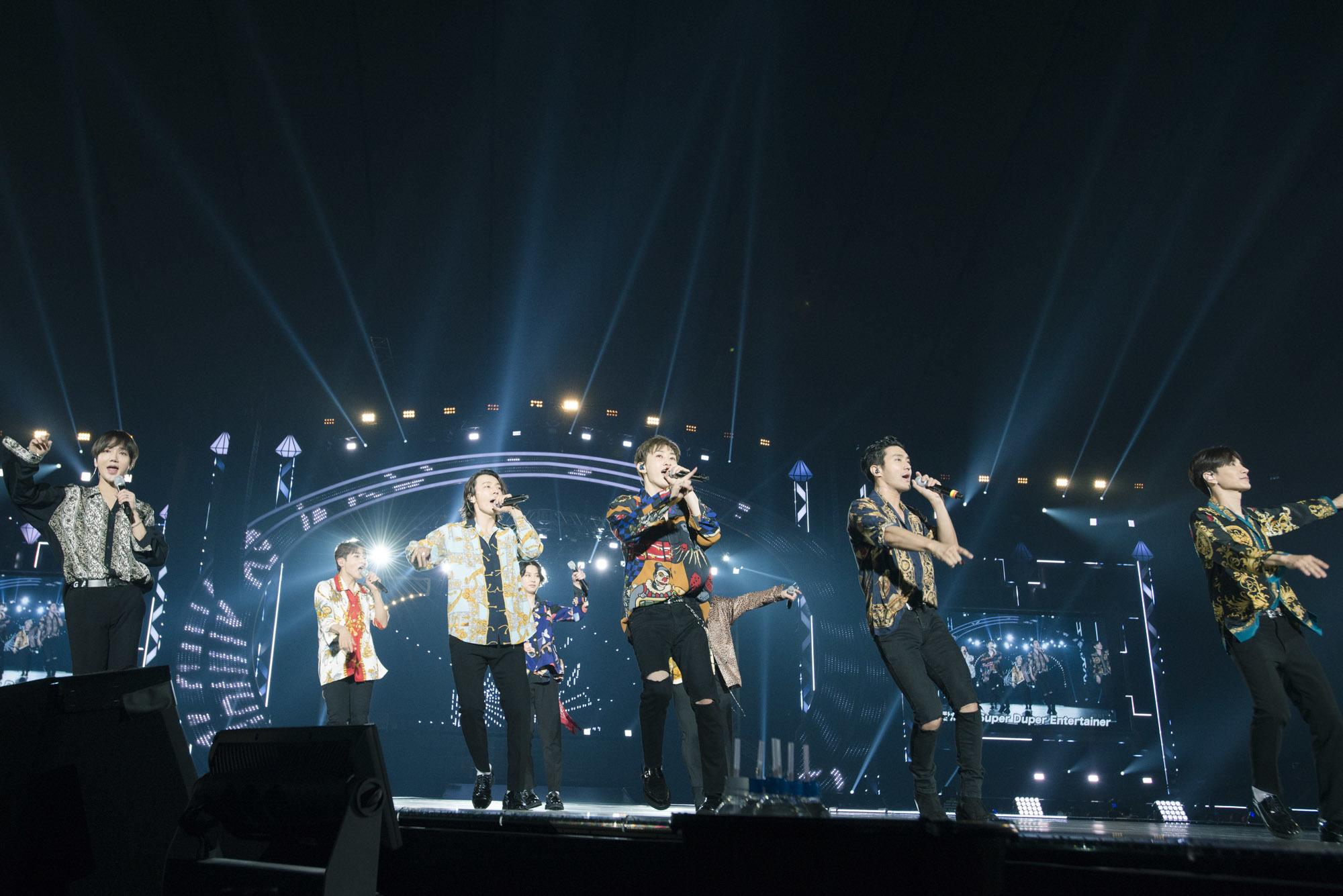 SUPER JUNIORが日本公演で10万人を動員 全28曲を全力