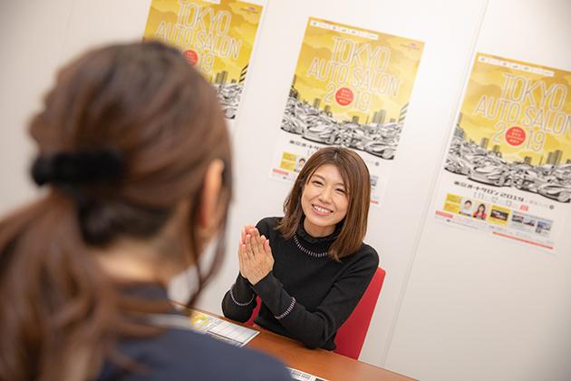 これまで何度も『日本レースクイーン大賞』を受賞している藤木由貴さん