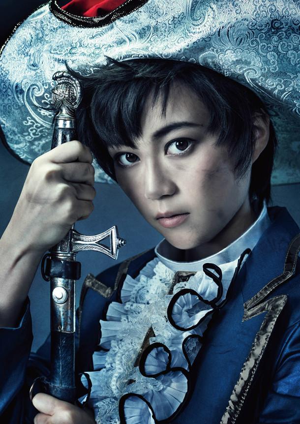 サファイアを演じる生田絵梨花(乃木坂46)。