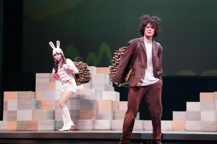 『カチカチ山』舞台写真 撮影:田中亜紀