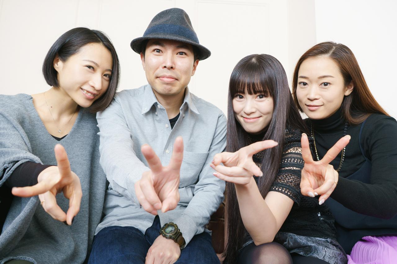 Kalafinaと大平佳男 撮影=菊池貴裕
