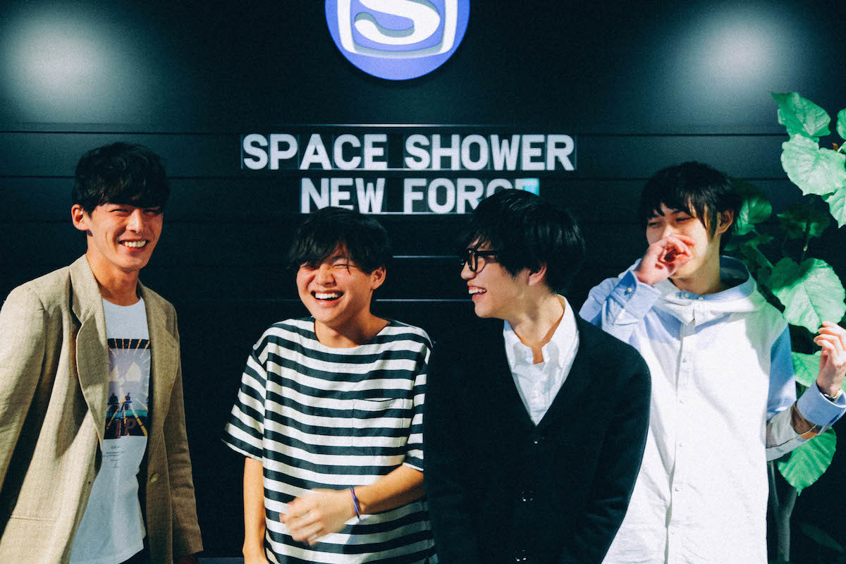 『SPACE SHOWER NEW FORCE』座談会 撮影=風間大洋