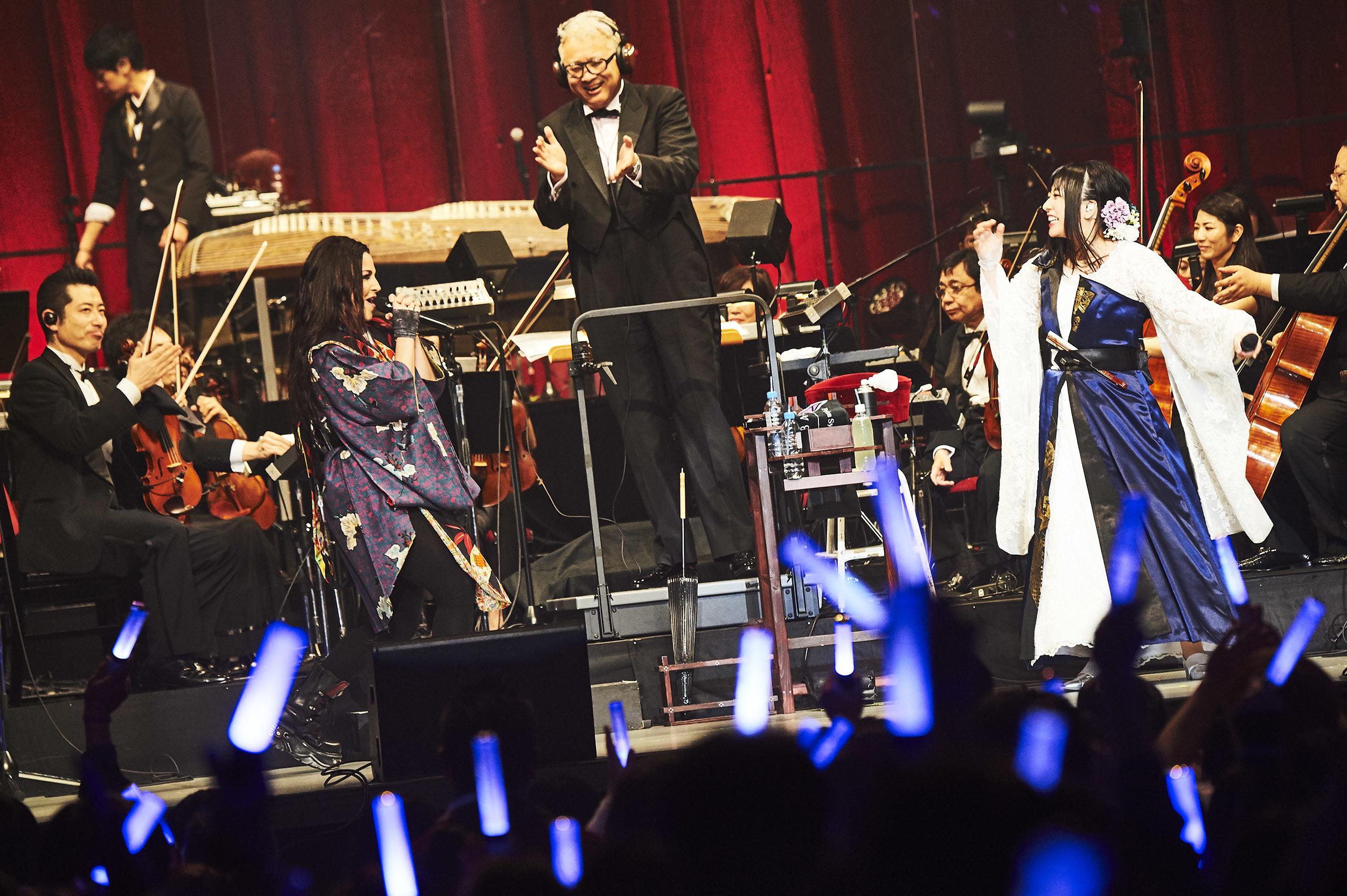 「和楽器バンド Premium Symphonic Night Vol.2 ライブ&オーケストラ~ in 大阪城ホール 2020」  撮影=KEIKO TANABE