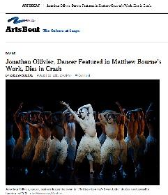 イギリスのダンサー、ジョナサン・オリヴィエさんが死去