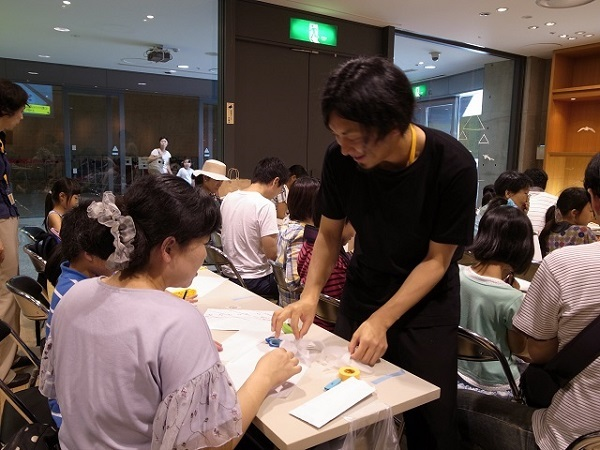 小松宏誠さん、指導中