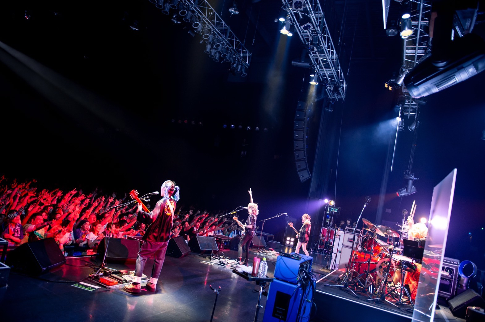 SCANDAL 2019.7.11 Zepp Tokyo 撮影=ヤオタケシ