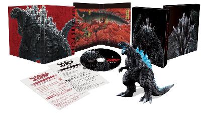 TVアニメ『ゴジラ S.P』Blu-ray&DVDが全3巻で発売決定 第1巻は完全数量限定で貴重な特製ソフビ付き