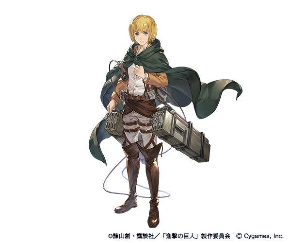 アルミン (CV:井上麻里奈)