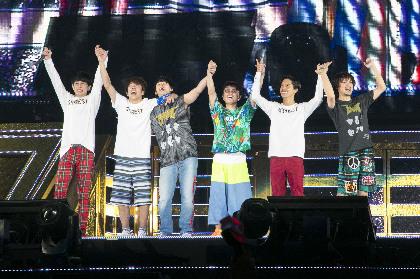 """関ジャニ∞、東京ドーム公演4DAYSでWANIMA提供の新曲を披露! スカパラとの""""総勢15人""""ジャムセッションも実現"""