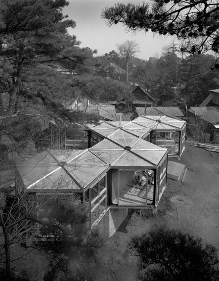 池辺陽 住宅No.76(1965) Ⓒ 大橋富夫