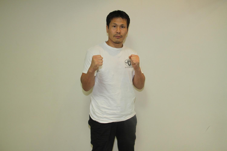 田村潔司/田村にとっては久々に素手で戦う試合になりそうだ 撮影=シン・上田