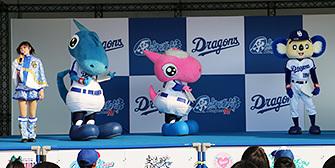 つば九郎も登場するD-STAGE LIVE!